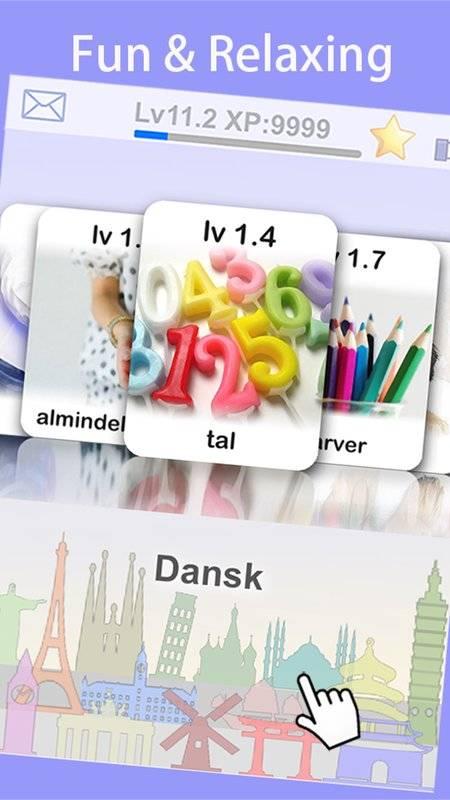 LingoCards游学丹麦语-丹麦文单字卡游戏(免费版)截图8