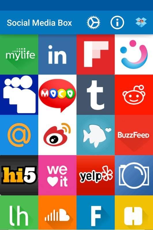 所有的社交网络