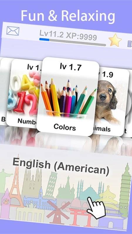 LingoCards游学美式英语-美语单字卡游戏(免费版)截图3