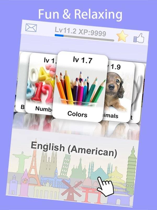 LingoCards游学美式英语-美语单字卡游戏(免费版)截图6