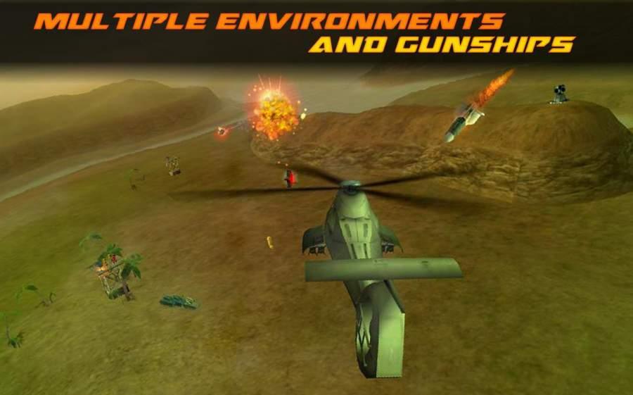 现代武装直升机直升机战斗3D截图2