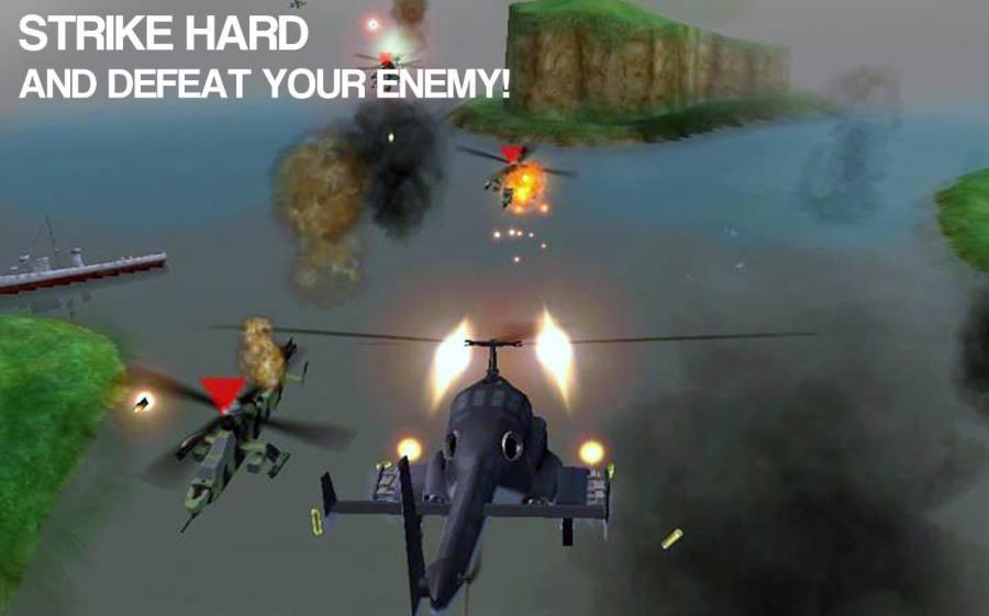 现代武装直升机直升机战斗3D截图4