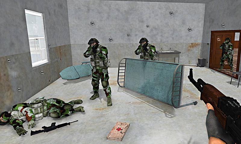 古世动做突击队FPS