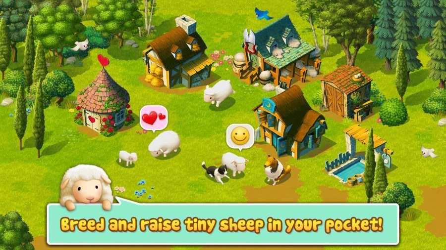Tiny Sheep - Virtual Pet Game截图0