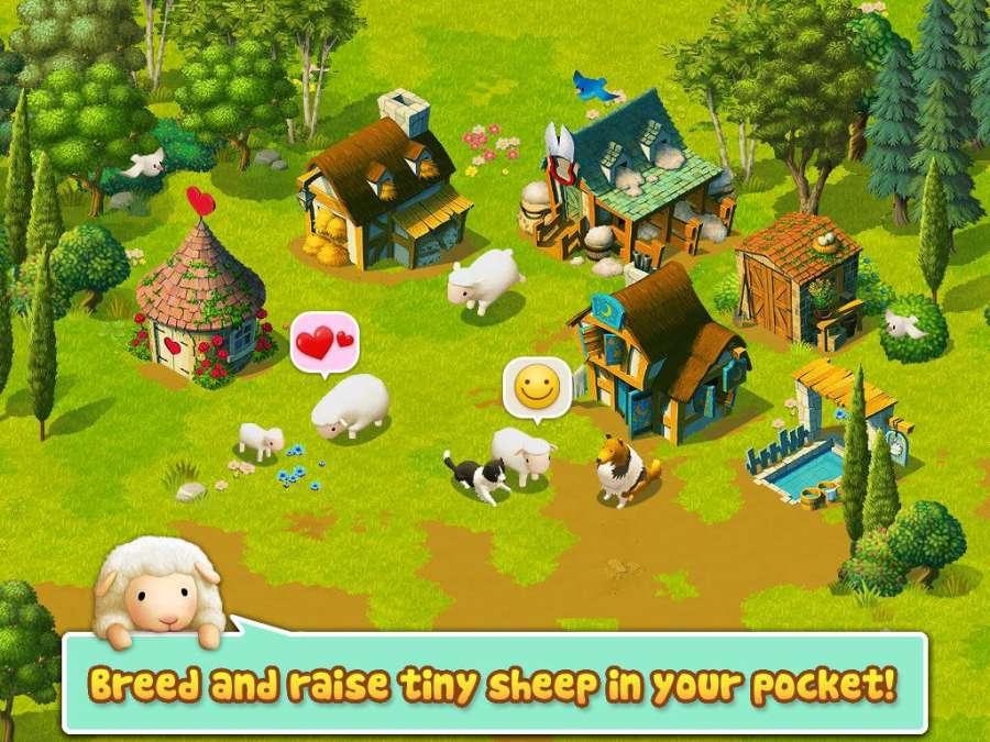 Tiny Sheep - Virtual Pet Game截图1
