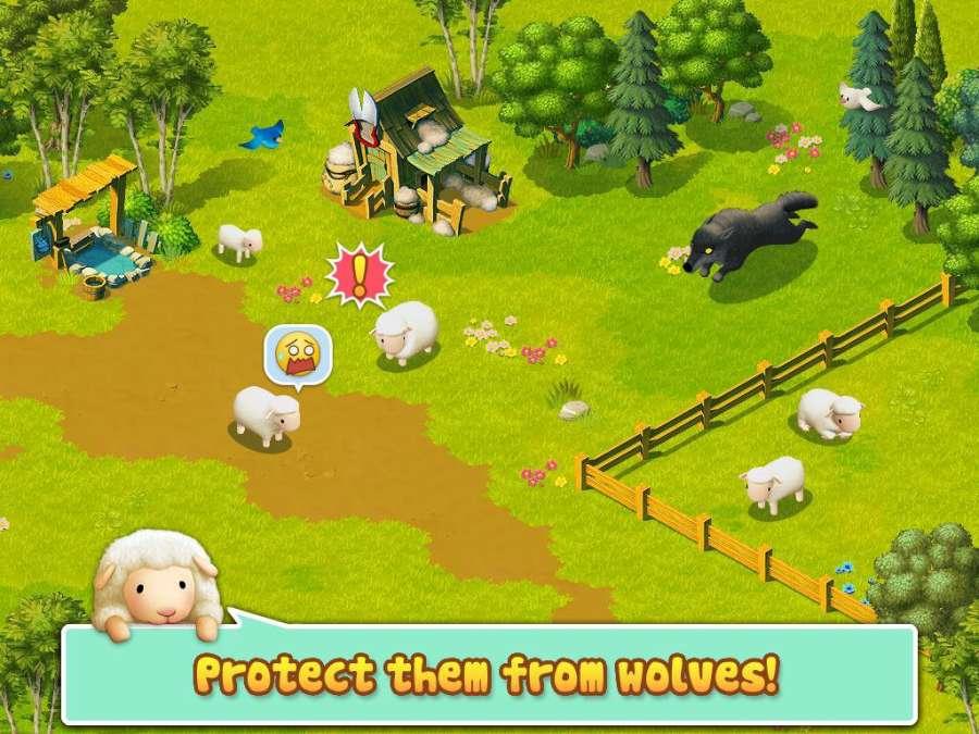Tiny Sheep - Virtual Pet Game截图2