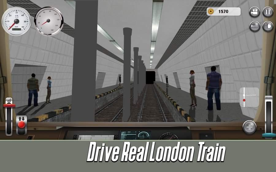 伦敦地铁:火车模拟器截图0