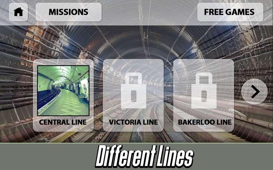 伦敦地铁:火车模拟器截图3