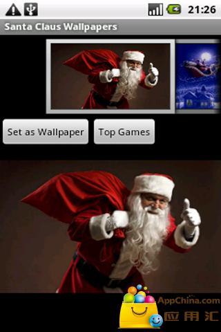 圣诞老人壁纸