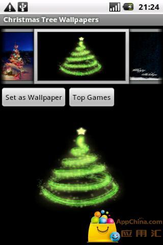 圣诞树壁纸