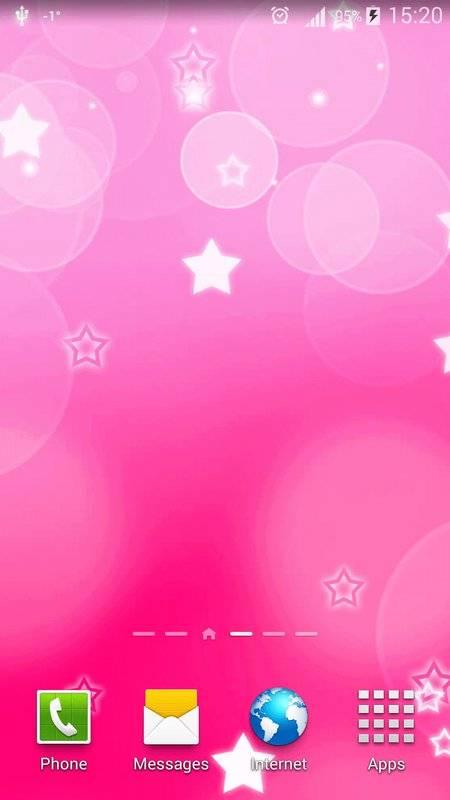 粉红色心中 动态壁纸截图5