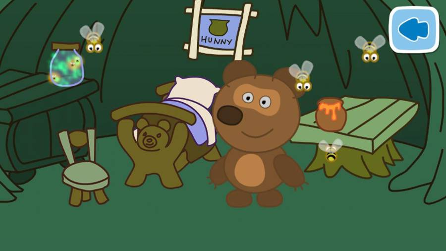 泰迪的睡前故事