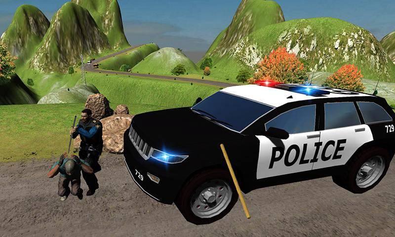 山警察对匪徒追逐截图7