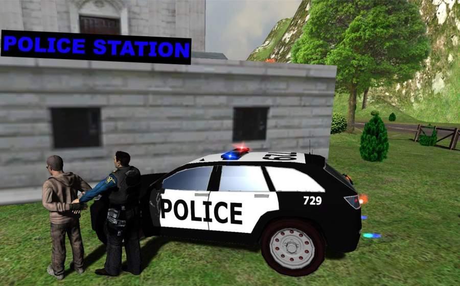 山警察对匪徒追逐截图8