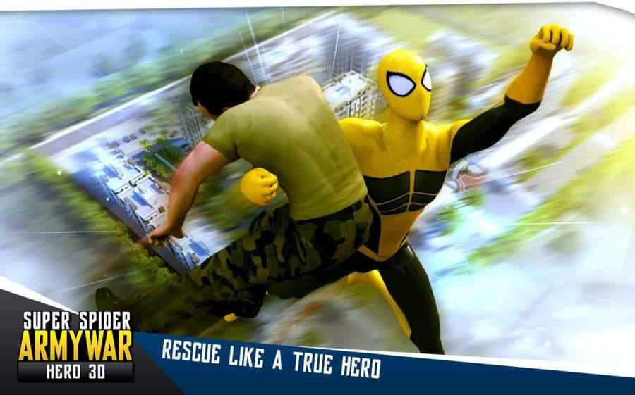 超级蜘蛛军队战争英雄3D