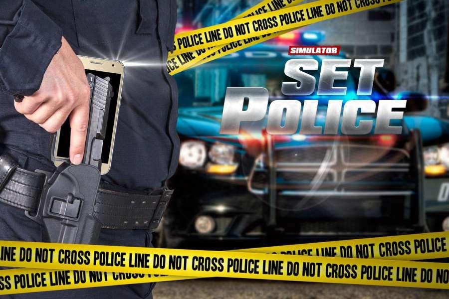 警察设置武器模拟器截图1