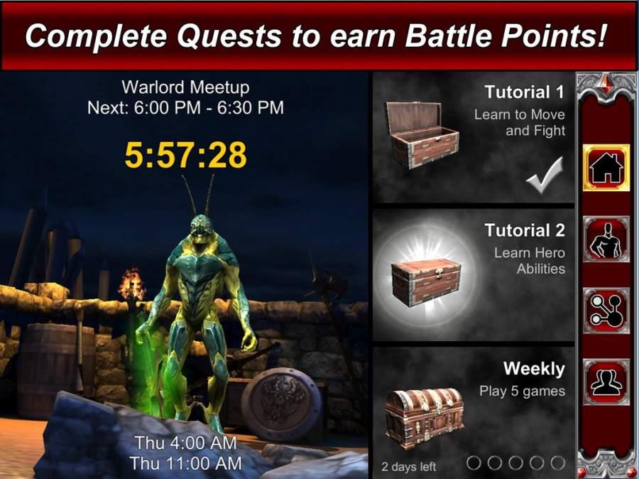 Warlord Strike 2 MOBA截图3
