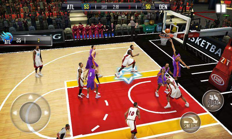 狂熱籃球截图0