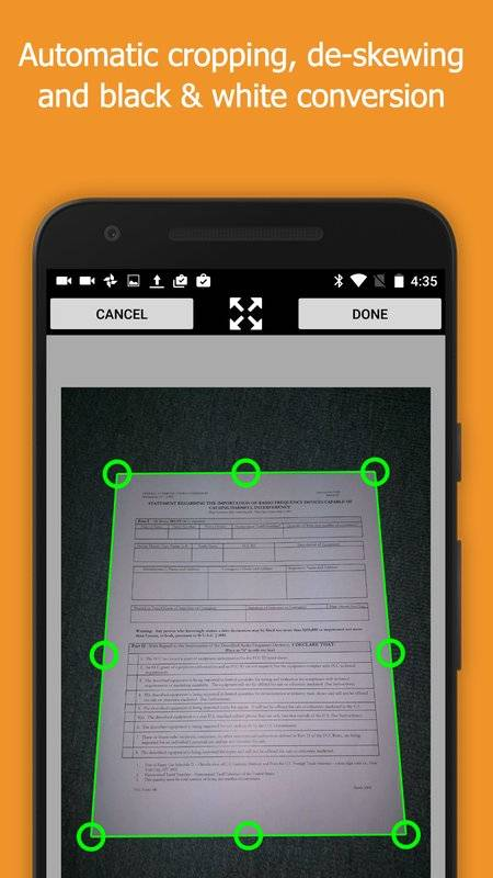 Snapfax - 拍照传真截图1