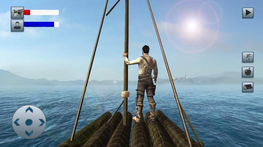 木筏生存岛逃生
