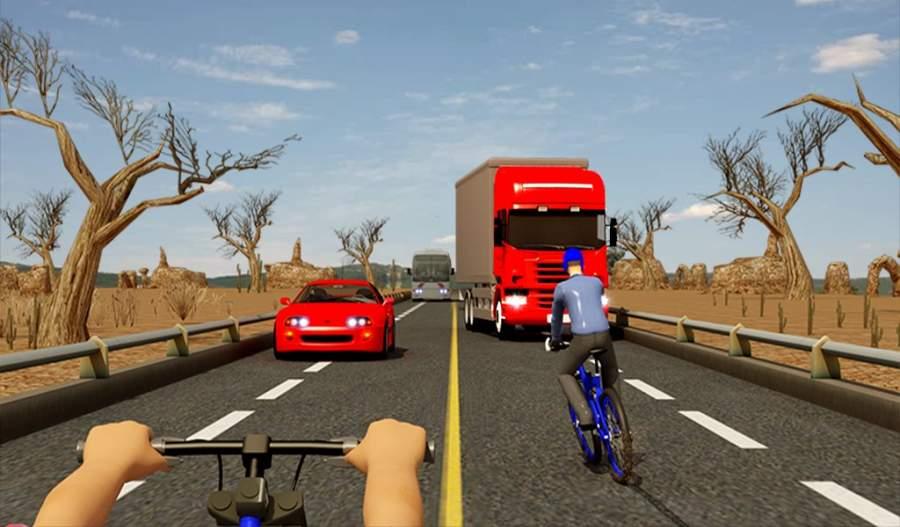 自行车四强特技赛车3D截图6