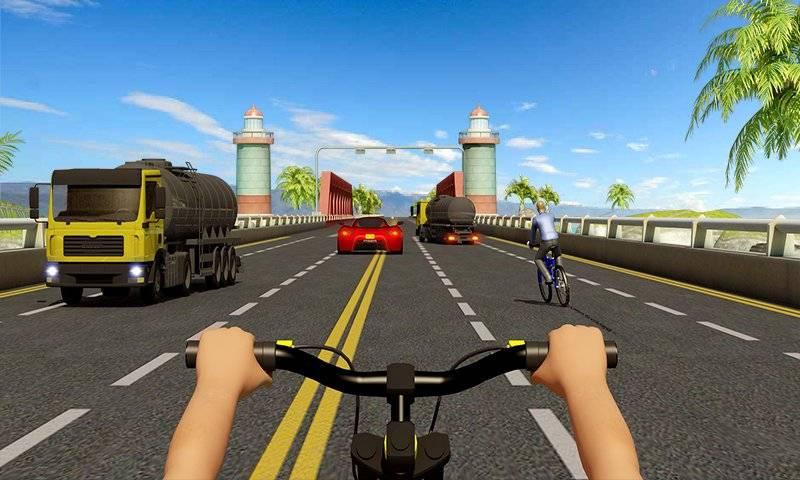 自行车四强特技赛车3D截图7