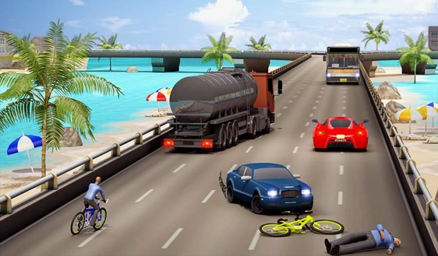 自行车四强特技赛车3D截图8