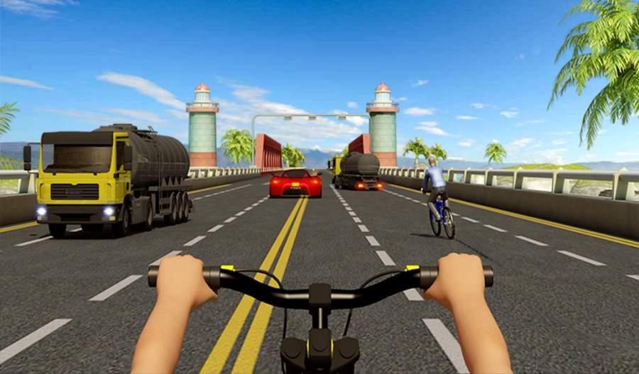 自行车四强特技赛车3D截图9