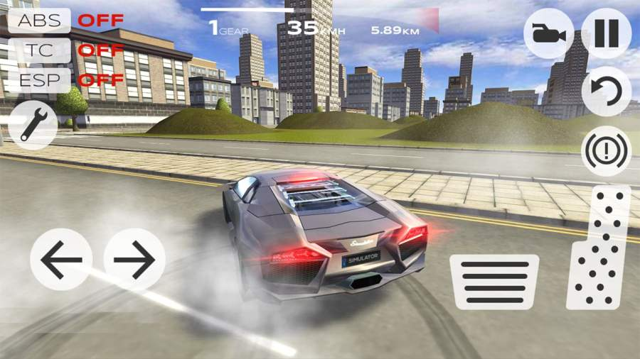 极速汽车模拟驾驶截图0