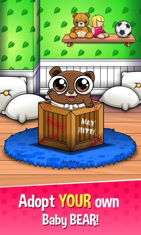 Happy Bear - Virtual Pet Game截图0