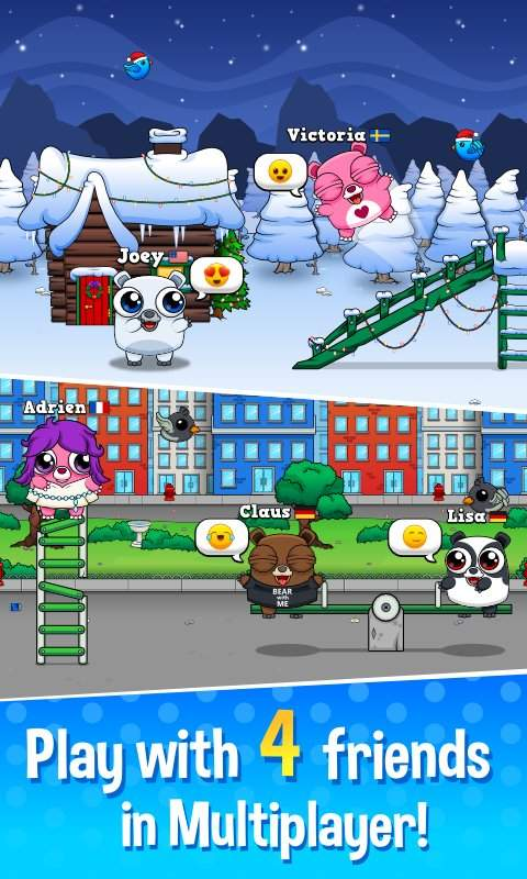 Happy Bear - Virtual Pet Game截图2