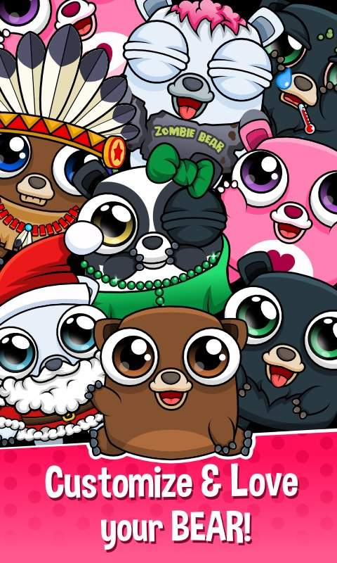 Happy Bear - Virtual Pet Game截图4