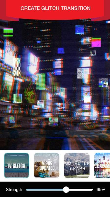 Glitch Video Effect Editor截图1
