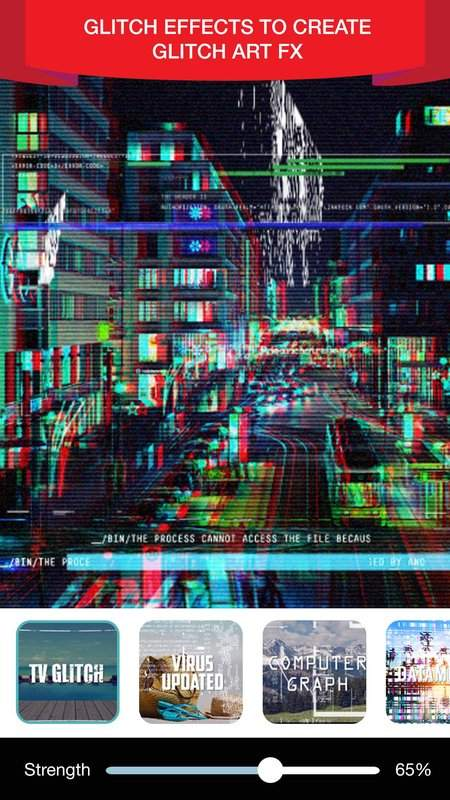 Glitch Video Effect Editor截图2