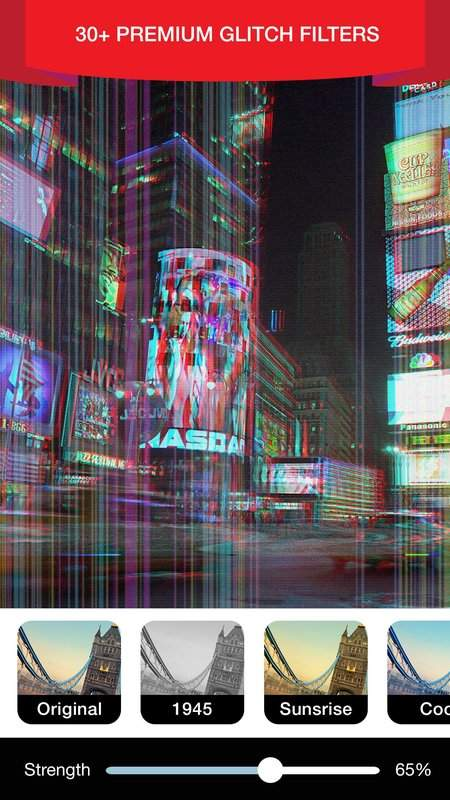Glitch Video Effect Editor截图4