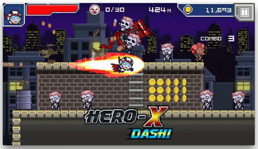 HERO-X: DASH!截图2