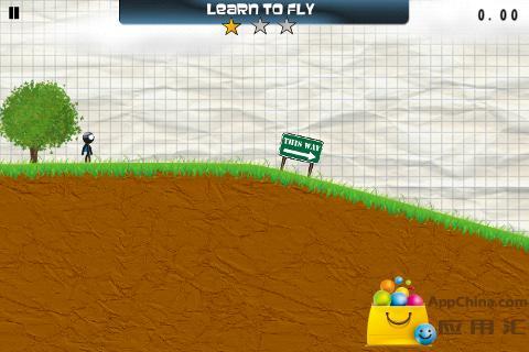 玩免費動作APP|下載滑翔火柴人完整版 app不用錢|硬是要APP