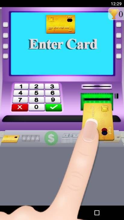 超市和ATM游戏