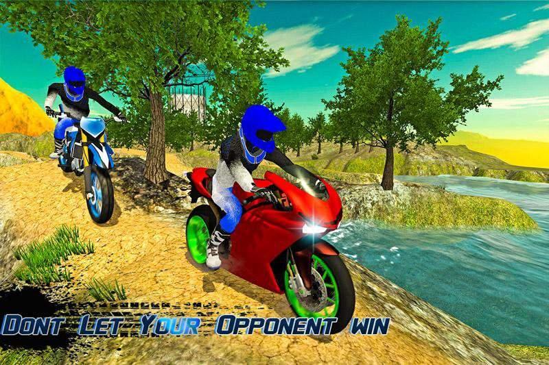 越野摩托车车手3d截图1