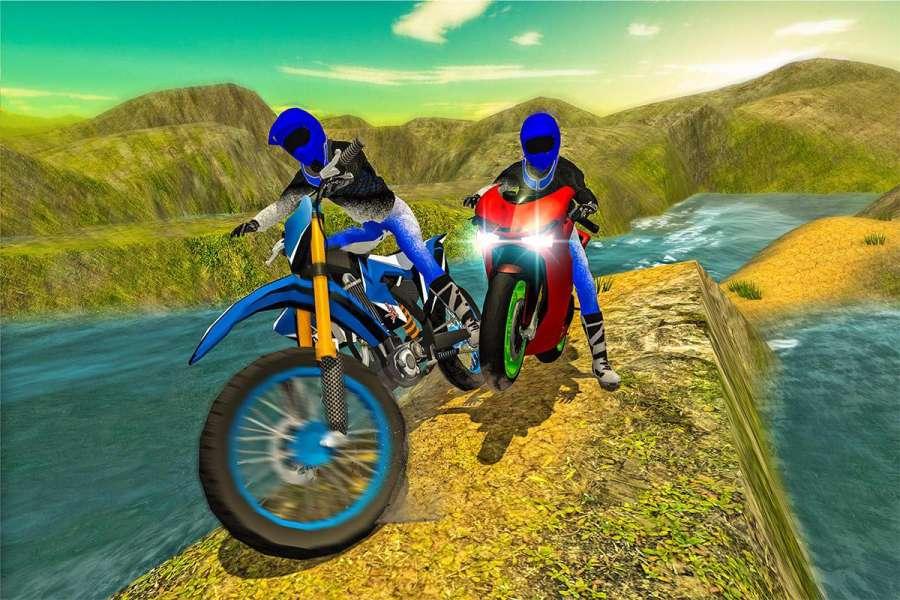 越野摩托车车手3d截图8