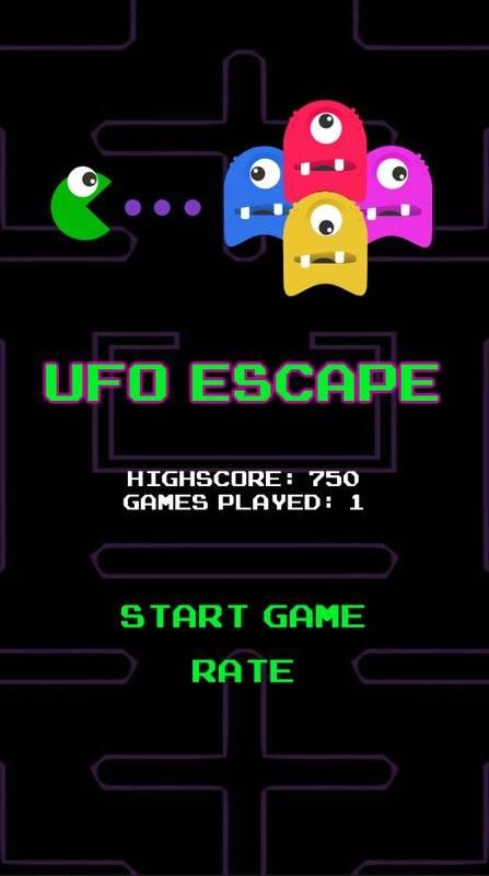 Ufo Escape截图2