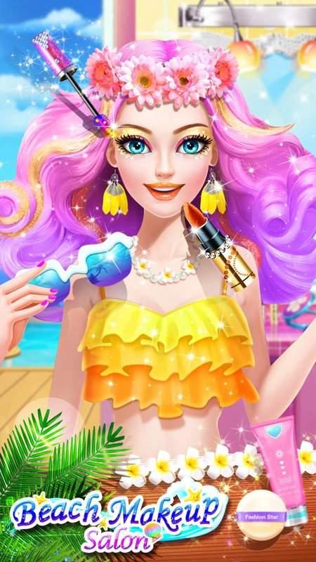 沙灘派對 – 化妝換裝遊戲截图7