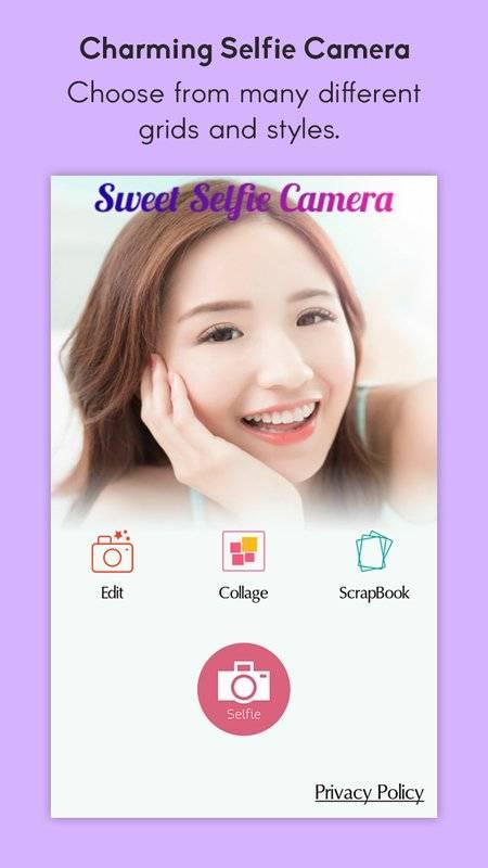 甜Selfie智能照相机
