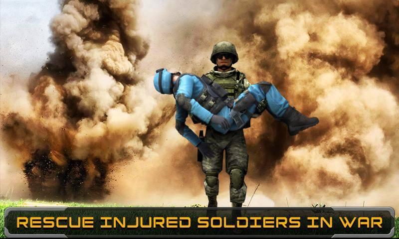 Modern Army Rescue Mission截图2