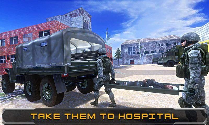 Modern Army Rescue Mission截图4