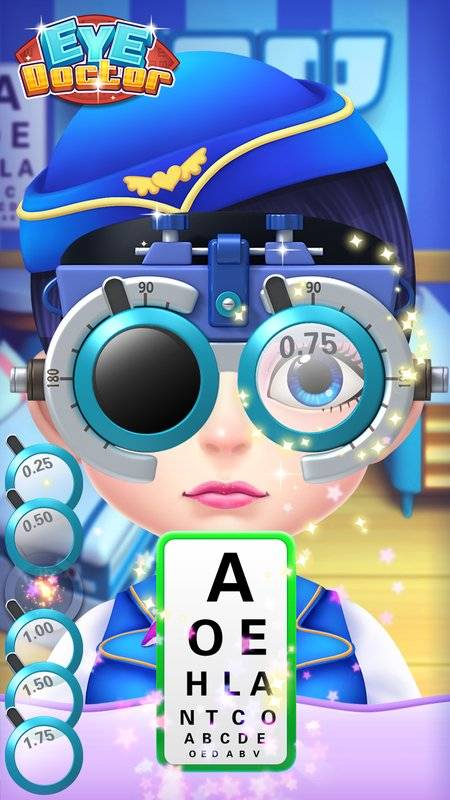 Eye Doctor – Hospital Game截图0