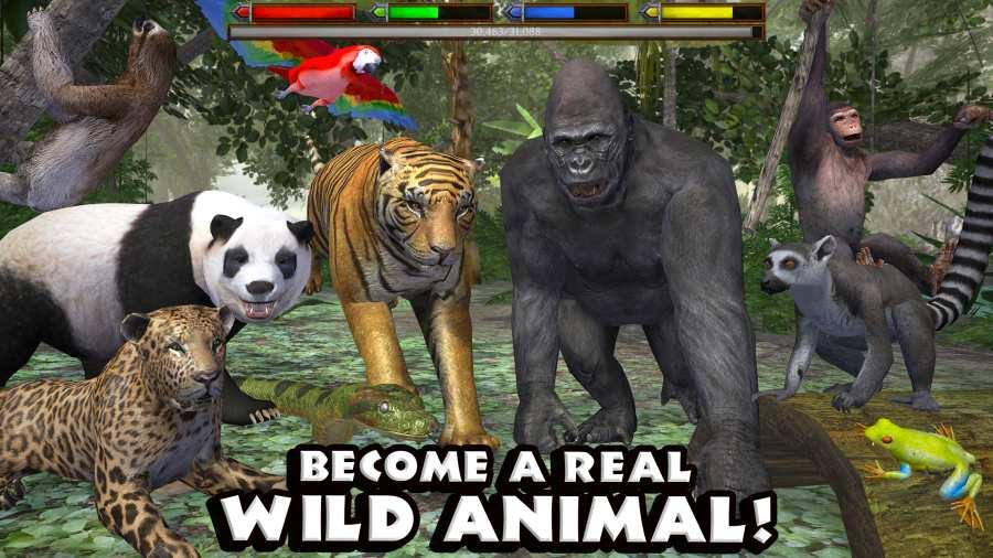 丛林动物模拟器截图1