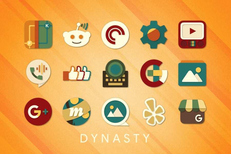 Dynasty图标包截图0