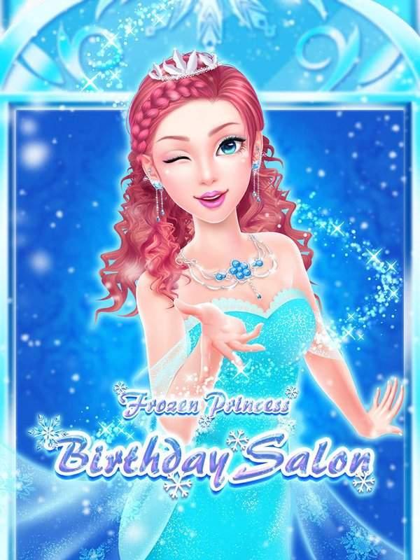 冰雪世界沙龙:皇家公主生日派对