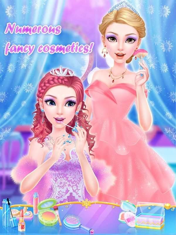 冰雪世界沙龙:皇家公主生日派对截图2